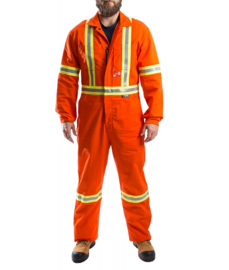 Contractor Hi Visibility F.R. Coverall