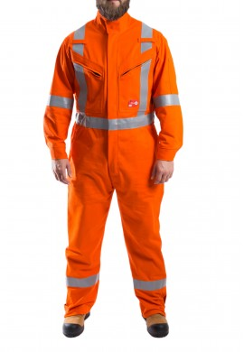 Design plus Offshore High Visibility F.R. Coverall