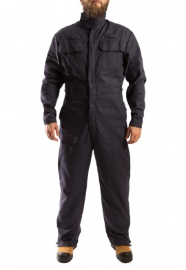 Inherently FR welding coverall