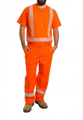 High Visibility short sleeve Cotton T-shirt