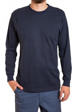 T-shirt poly coton à manches longues
