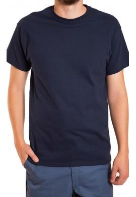 T-Shirt poly coton à manches courtes