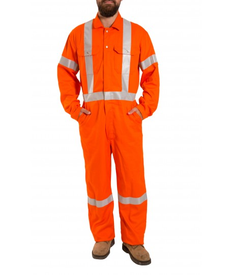 Cotton High Visibility Coverall