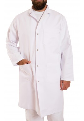 Cotton lab coat