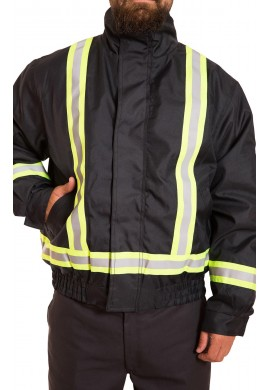 High Visibility 3 in 1 water/wind resistant bomber jacket