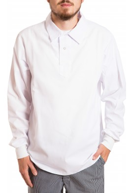Pull style long sleeve shirt, no pocket