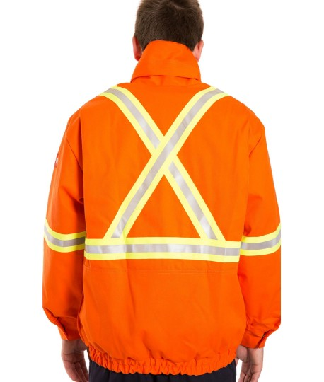 48a8465e8289 Flame resistant high visibility 3 in 1 Bomber jacket - LH Workwear