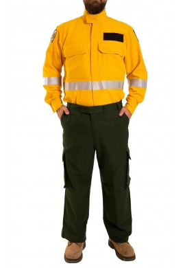 Forest firefighter inherently Flame resistant Nomex® IIIA long sleeve Shirt