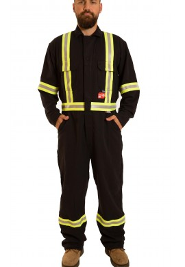 High Visibility Inherently F.R Tecasafe® Coverall