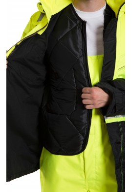 Hi Vis Engeneered 2-tone , 3 in 1 Parka