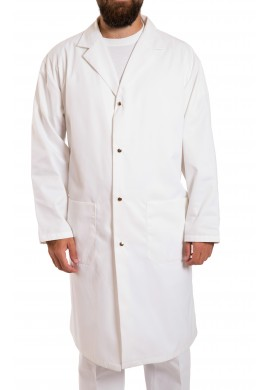 2 pocket butcher coat